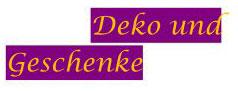 Deko u. Geschenke-Logo